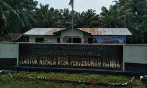 kantor kepala desa perkebunan hanna